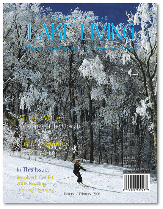 Upstate Lake Living Cover